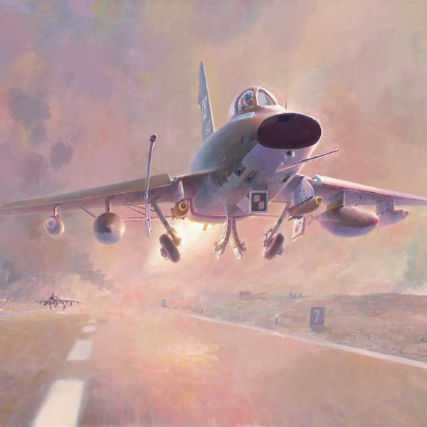 Super Sabres Respond-Tet 68 aviation art
